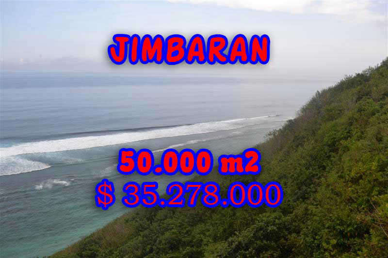 Astounding Property for sale in Bali, Land in Jimbaran for sale– 50.000 m2 @ $ 706