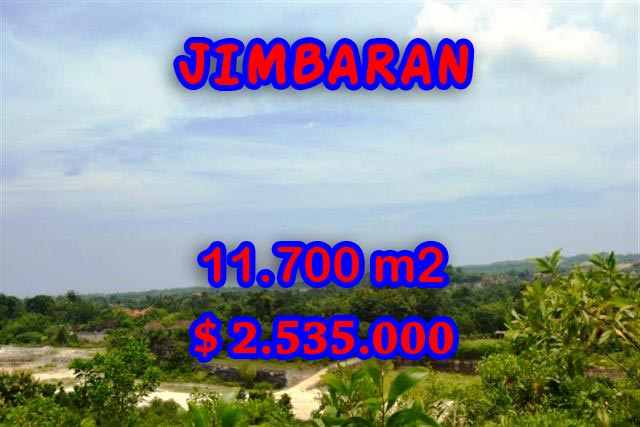 Land for sale in Bali Indonesia, Amazing view in Jimbaran Bali – 11.700 m2 @ $ 217