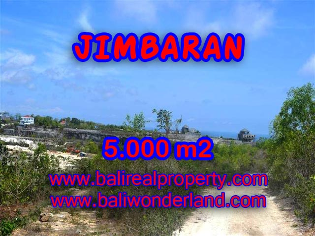 Amazing Property for sale in Bali, Land in Jimbaran for sale– 5,000 m2 @ $ 294