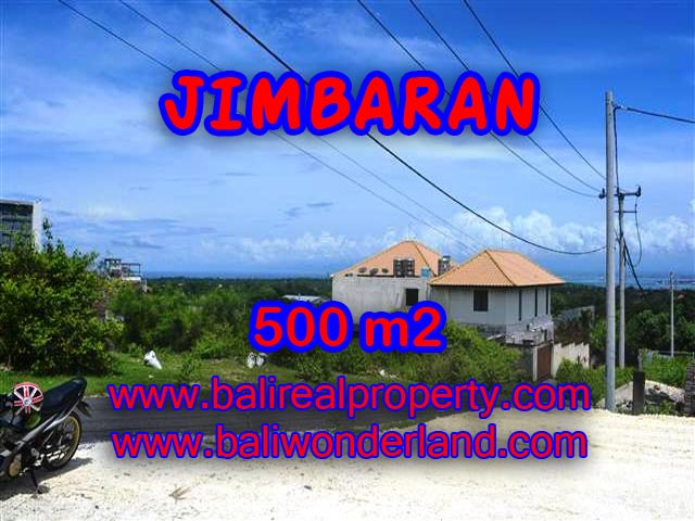 Land in Jimbaran Bali for sale, Magnificent view in Jimbaran Ungasan Bali – TJJI066