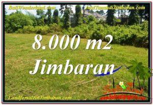 FOR SALE Exotic PROPERTY 8,000 m2 LAND IN JIMBARAN BALI TJJI109