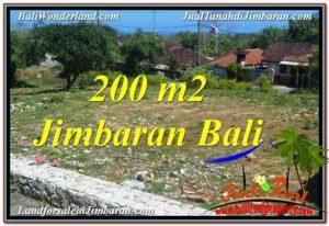 Beautiful PROPERTY 200 m2 LAND IN Jimbaran Kutuh FOR SALE TJJI104