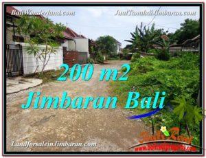 Affordable 200 m2 LAND IN Jimbaran Ungasan FOR SALE TJJI106