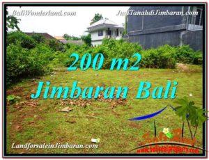 Affordable JIMBARAN 200 m2 LAND FOR SALE TJJI107