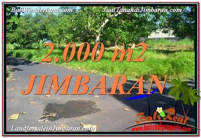 Affordable JIMBARAN 2,000 m2 LAND FOR SALE TJJI114
