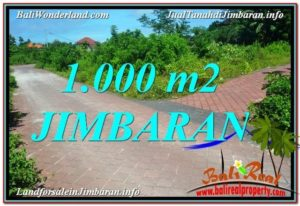 Beautiful PROPERTY 1,000 m2 LAND SALE IN JIMBARAN BALI TJJI111