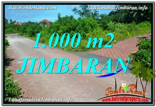 Affordable PROPERTY 1,000 m2 LAND FOR SALE IN JIMBARAN BALI TJJI111