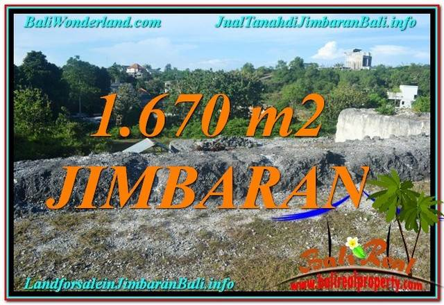 Magnificent PROPERTY 1,670 m2 LAND SALE IN JIMBARAN BALI TJJI116