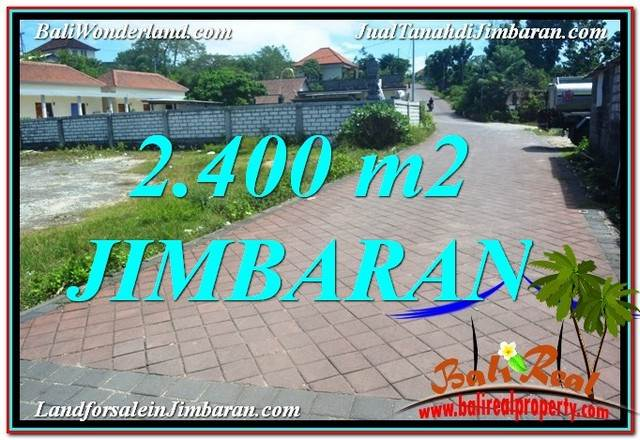 Exotic 2,400 m2 LAND IN Jimbaran Uluwatu FOR SALE TJJI110