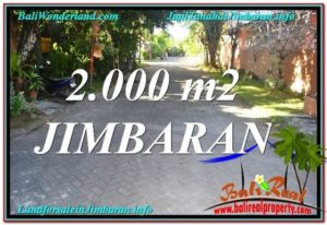 Affordable PROPERTY 2,000 m2 LAND SALE IN JIMBARAN TJJI115
