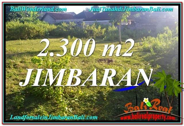 Affordable Jimbaran Ungasan 2,300 m2 LAND FOR SALE TJJI117