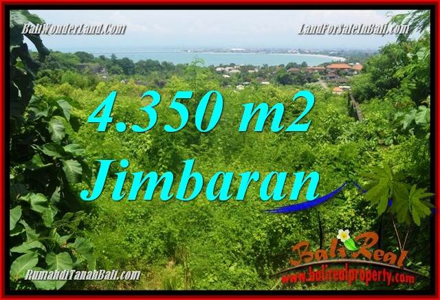 Magnificent Jimbaran Ungasan 4,350 m2 LAND FOR SALE TJJI120