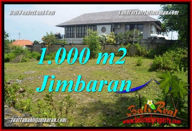 Beautiful JIMBARAN BALI 1,000 m2 LAND FOR SALE TJJI123