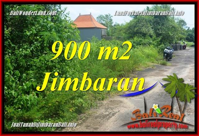 Beautiful Jimbaran Ungasan BALI 900 m2 LAND FOR SALE TJJI124