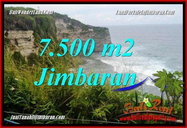 Exotic PROPERTY 7,500 m2 LAND IN Jimbaran Uluwatu BALI FOR SALE TJJI126