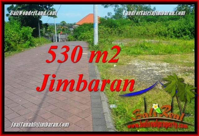 FOR SALE Affordable 530 m2 LAND IN JIMBARAN BALI TJJI127