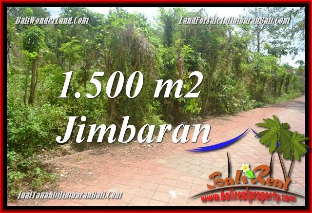 Beautiful JIMBARAN ULUWATU BALI 1,500 m2 LAND FOR SALE TJJI128