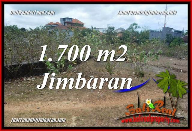 Beautiful JIMBARAN BALI 1,700 m2 LAND FOR SALE TJJI130