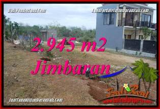 FOR SALE 2,945 m2 LAND IN JIMBARAN BALI TJJI132