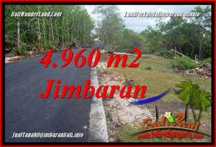 Exotic JIMBARAN UNGASAN 4,960 m2 LAND FOR SALE TJJI133